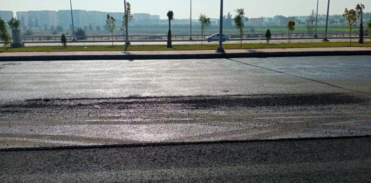 Gov't Inspects Entrance of New Damietta City