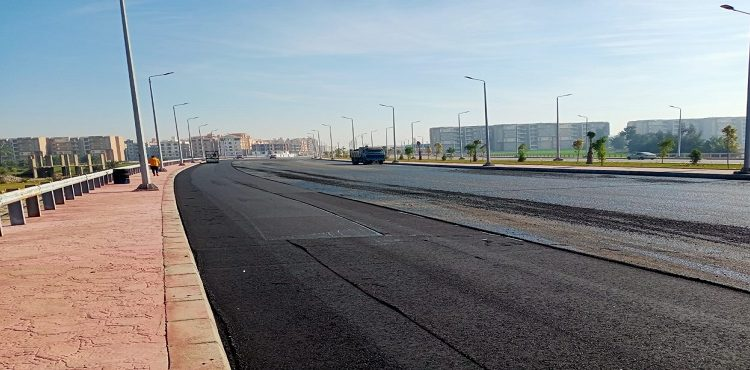 جهاز «دمياط الجديدة»:رفع كفاءة المدخل الغربي للمدينة بـ 33 مليون جنيه