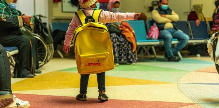 DHL Express Delivers Happiness to Children with Cancer