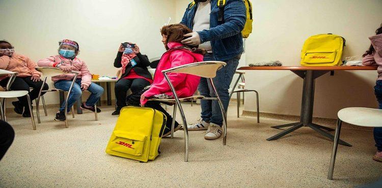 «دي إتش إل» تدعم الأطفال المصابين بالسرطان