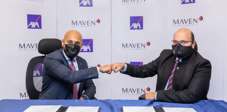 MAVEN Developments Partners With AXA Insurance
