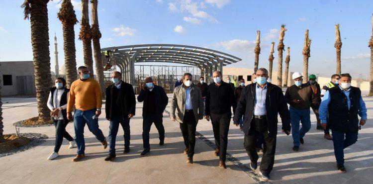 Abbas Inspects NAC's Capital Park