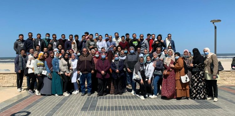 A Delegation from Delta University Visits New Mansoura City