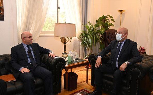 خلال لقائه بالسفير المغربي.. «الجزار» يؤكد أن مصر بيئة واعدة للاستثمار