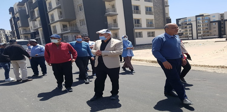 Housing Ministry Officials Inspect Projects in New Mansoura