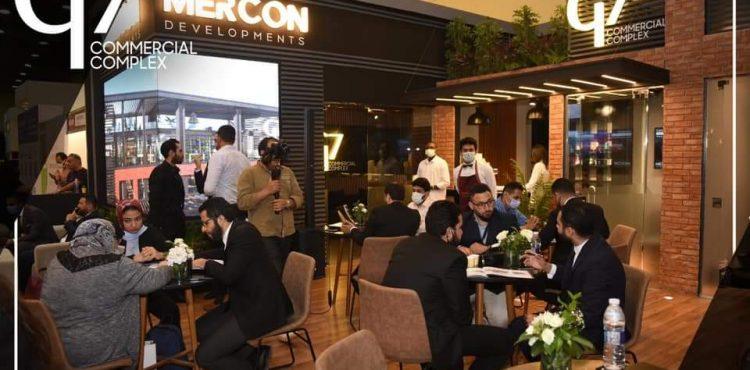 «Mercon» تقدم عروضًا تنافسية لمشروع «G7» بمعرض «نكست موف»