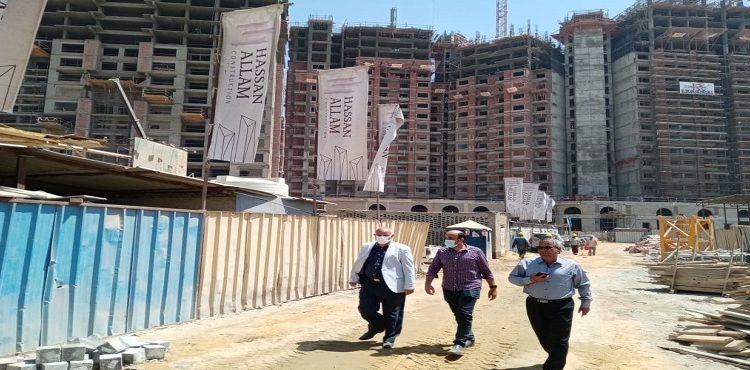 Housing Officials Inspect Work Progress in Maspero Triangle