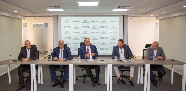 Inertia Partners with Redcon for Jefaira's Construction Works