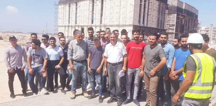 Housing Officials Welcome Engineering Students in New Mansoura