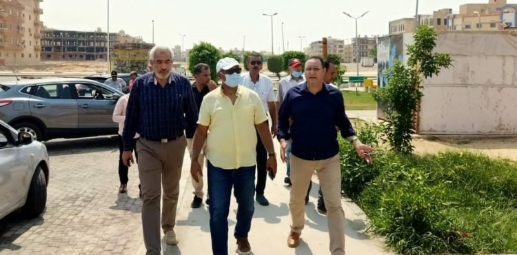 Housing Officials Inspect Shorouk Youth Project Among Others in Shorouk City
