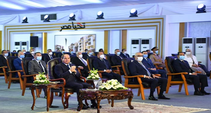 El Sisi Directs To Build 30% of A Project Before its Announcement And Marketing