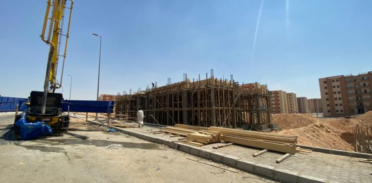 """New October Authority Officials Follow up on """"Housing for All Egyptians"""" Initiative"""